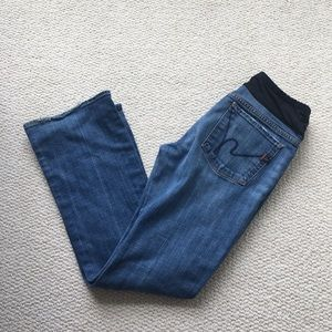 Citizens of Humanity bootcut maternity jeans 32